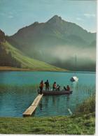 Schwarzsee (FR) - Suisse -  Brume Matinale Sur Le Lac Noir - Circulé - FR Fribourg