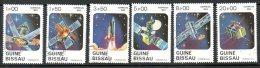 GUINEE BISSAU. N°187-92 Oblitérés De 1983. Engins Spatiaux. - Space