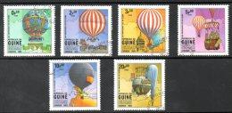 GUINEE BISSAU. N°173-8 Oblitérés De 1983. Aérostats. - Luchtballons