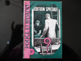 """Collection """"police Et Mystère"""" N° 92 """"édition Spéciale"""" T.Guildé - Ferenczi"""