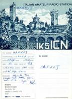 QSL-Karte Italien 56020 La Scala San Miniato PI IK5ICN 1988 Toskana Italia Italy Radio Card Cartolina Carte Funkkarte - QSL-Karten