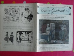 Rire Et Galanterie. 1903. N° 3. John Grand-Carteret.  érostisme. Images Galantes - Boeken, Tijdschriften, Stripverhalen