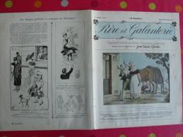 Rire Et Galanterie. 1903. N° 6. John Grand-Carteret.  érostisme. Images Galantes - Boeken, Tijdschriften, Stripverhalen
