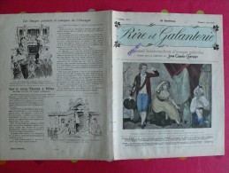Rire Et Galanterie. 1903. N° 8. John Grand-Carteret.  érostisme. Images Galantes - Boeken, Tijdschriften, Stripverhalen