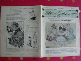 Rire Et Galanterie. 1903. N° 16. John Grand-Carteret.  érostisme. Images Galantes - Boeken, Tijdschriften, Stripverhalen