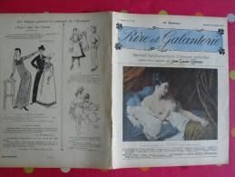 Rire Et Galanterie. 1903. N° 18. John Grand-Carteret.  érostisme. Images Galantes - Boeken, Tijdschriften, Stripverhalen