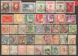 41 Timbres De L´Indes Néerlandaises - Niederländisch-Indien
