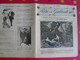 Rire Et Galanterie. 1904. N° 32. John Grand-Carteret.  érostisme. Images Galantes - Boeken, Tijdschriften, Stripverhalen
