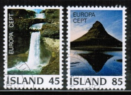 CEPT 1977 IS MI 522-23 USED ICELAND - Europa-CEPT