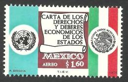 Mexico, 1.60 P. 1975, Sc # C457, Mi # 1456, MNH - Messico