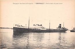 """Pétrolier  """" OMPHALE  """" De La Compagnie Auxiliaire De Navigation - Navire-Citerne De 9000 Tonnes  -  Bateau De Commerce - Pétroliers"""