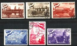 1947 RUSSIA  Serie Cpl Usata - Usati
