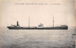 """¤¤   -  Pétrolier  """" MONIQUE  """" De La Compagnie Auxiliaire De Navigation -   Bateau De Commerce   -  ¤¤ - Pétroliers"""