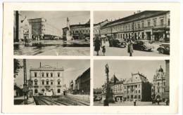 Novi Sad (Ujvidek) Old Postcard Travelled 23.VIII.1945 Bb - Serbie