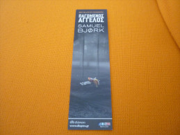 Frozen Angel Samuel Bjork - Bookmark/Marque-page From Greece - Marque-Pages