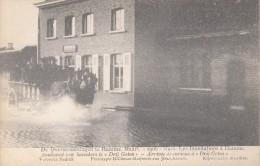 Hamme 1906, De Overstroomingen, Aankomst Van Bezoekers Te 'Drij Goten', Climan-Ruijssers (05698) - Hamme