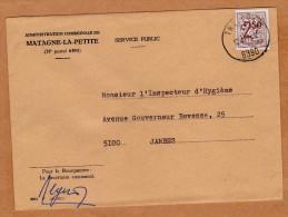 Enveloppe Brief Cover Administration Communale De Matagne-la-Petite - Belgique