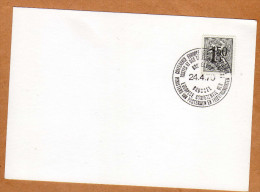Carte 1518 Conférence Européenne Postes Et Télécommunications Bruxelles - Belgique