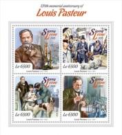 Sierra Leone. 2015 Louis Pasteur. (110a) - Louis Pasteur