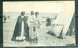 Colonne Tadla - Juin 1913 -  Le Colonel Mangin Reçoit La Soumission D'un Caid Zémour   - Rav111 - Morocco