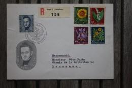 Enveloppe Affranchie Pro Juventute Recommandée Pour Lausanne Oblitération Bern - Lettres & Documents