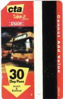 Bus Card Transit Chicago, 30 Day Pass CTA - Moteurs