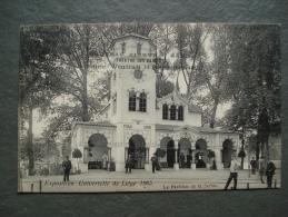 Cpa/pk Liége Expo Universelle  - Le Pavillon De La Serbie 1905 - Liege