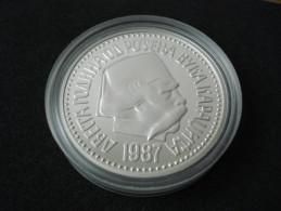YUGOSLAVIA 5000 Dinara 1987. UNC SILVER PROOF (200th Anniversary Of The Birth Of VUK KARADŽIĆ) - NO PACK - Yugoslavia