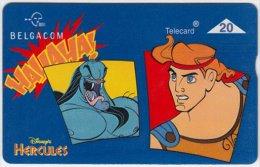 BELGIUM A-755 Hologram Belgacom - Cinema, Walt Disney, Hercules - 709K - used