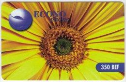 BELGIUM A-804 Prepaid Econophone - Plant, Sunflower - used