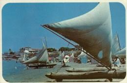 Playa Beach Near Guayaquil, Ecuador. Sent To Denmark 1980. B-1248 - Ecuador
