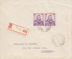 Nr 600 (2), Op Reco-brief, Van Bruxelles Naar Tirlemont (05719) - Belgique