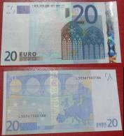 FINLANDIA FINLAND 20 EURO 2002 TRICHET SERIE L 30367502186 E006G1 AUNC QFDS - EURO