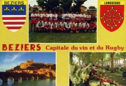 BEZIERS Capitale Du Vin Et Du Rugby (C9433) - Beziers