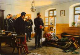 Kronprinz Friedrich Wilhelm An Der Leiche Des Französischen Generals Douay In Weißenburg 1870 - Personajes