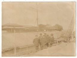 Photo - Canal De Suez - Station De Toussoum - Ca. 1905 - Lieux