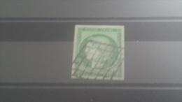 LOT 266824 TIMBRE DE FRANCE OBLITERE N�2 VALEUR 1000 EUROS SANS DEFAUT