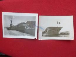 PORTE AVIONS ARROMANCHES  Photo 18 x 12