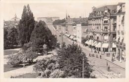 OSLO - Fra Karl Johansgate, Fotokarte Als Feldpost Gel. 1940, Aufgabestempel Erfurt Nach Graz - Norwegen
