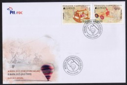 2015 TURKEY EUROPA TOYS, FDC Big First Day Cover - Europa-CEPT