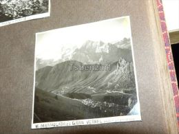 Marmolada Gran Vernel Sasso Di Pordoi  Italy Italia Foto Photo 1937 - Lieux