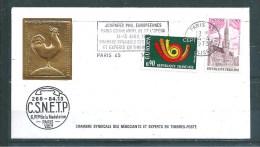 Enveloppe Philatélique Avec Cachet C S N E T P  Avec EUROPAS N°1752/53   14/04/1973 - Documents De La Poste