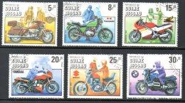 GUINEE BISSAU. N°337-42 Oblitérés De 1985. Motos. - Motorfietsen