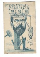 Orens,  Le Burin Satirique, N° 40 ( Tiré à 250 Ex. ) Nicolas II, Le Despotisme Mène à La Liberté Par L'abus Du Pouvoir - Orens