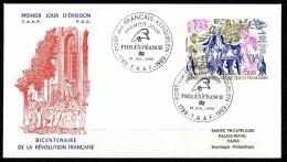 Franz.Gebiete I.d.Antarktis - Mi.Nr .     256       Gestempelt -     FDC - FDC