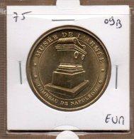 Monnaie De Paris : Musée De L'Armée Tombeau De Napoléon - 2009 - Monnaie De Paris