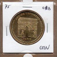 Monnaie De Paris : Arc De Triomphe - 2009 CMN - Monnaie De Paris