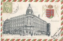Cpa - Budapest - Nemzeti Szinhaz - Nationaltheater ( En L´état ) - Hungría