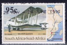 RSA+ Südafrika 1995 Mi 952 953 972 Trans-Afrika-Flug, Tourismus, Gandhi - Used Stamps
