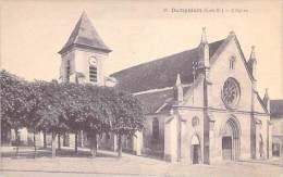 DAMPMART 77 - L'Eglise - CPA - Seine Et Marne - Autres Communes